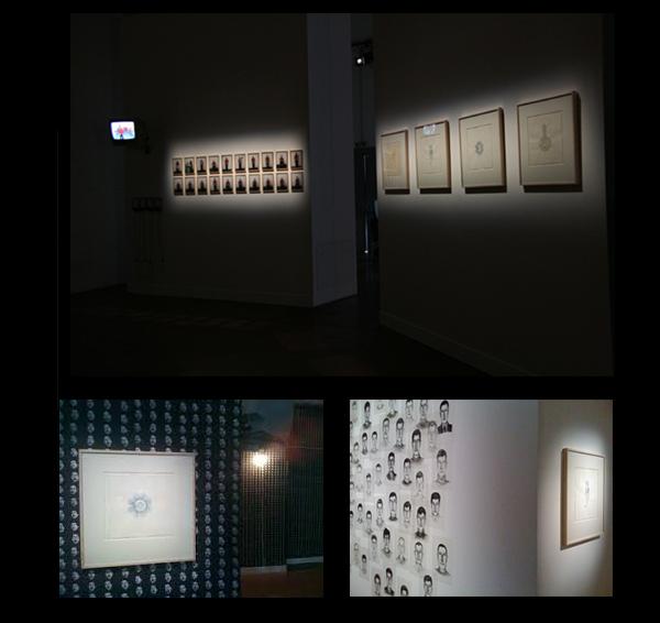 LaureTixier_La foule, de zéro à l'infini, La Tolerie, Clermont-Ferrand, 2008, curator  : Guillaume Désanges