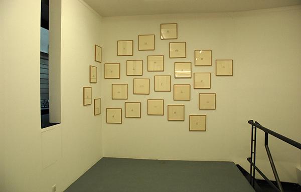 LaureTixier_Plaid Houses, galerie Polaris, Paris, 2010