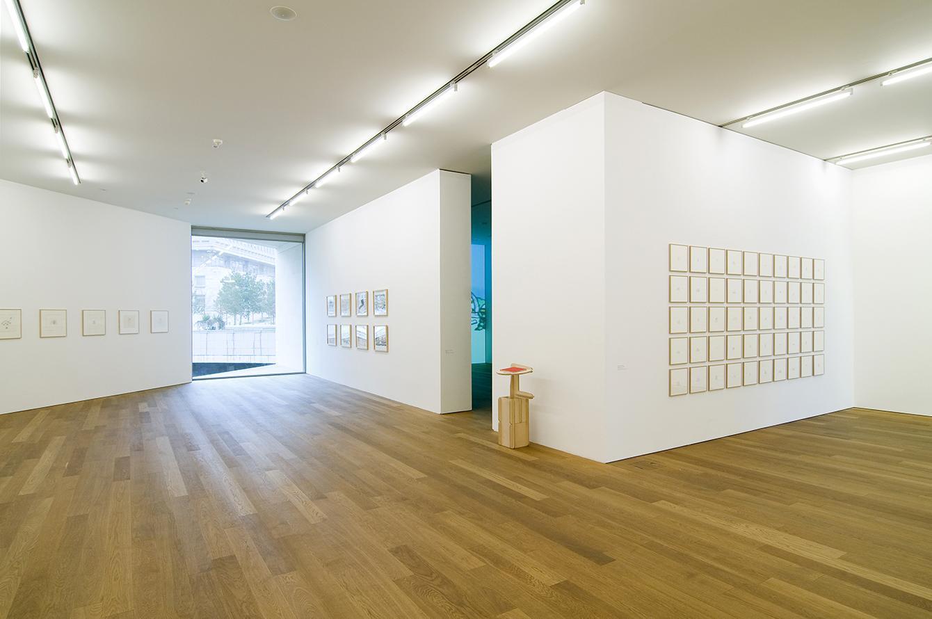 LaureTixier_Plaid Houses, exposition au Mudam Luxembourg, 2009