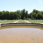 LaureTixier_Potager, semis en ligne,  2011, béton ductal teinté dans la masse, [120] 37 x 30 x 22 cm, collection FDAC Domaine de Chamarande