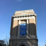 Le musée sur un beau soleil de novembre
