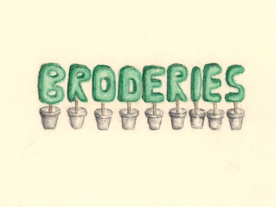 Broderies – 2007