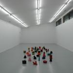 LaureTixier_Plaid Houses, 48 maquettes à l'échelle 1/10, La Galerie, Talant, 2010