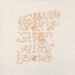 Laure Tixier, Grands ensembles, 2017 Watercolor on wove paper [8x]50 x 50 cm