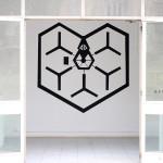LaureTixier_Map with a view, peinture murale, dimensions variables, exposition Natures, Espace et Ecole d'Art Camille Lambert, Juvisy, 2015 (commissariat Sandrine Rouillard)