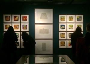Les essaims, Amiraux, Cité Radieuse, Tour Degas, 2015 Série d'aquarelles sur papier velin, [3x] 50 x 68,5 cm Collection Katherine Graham Debost, Paris