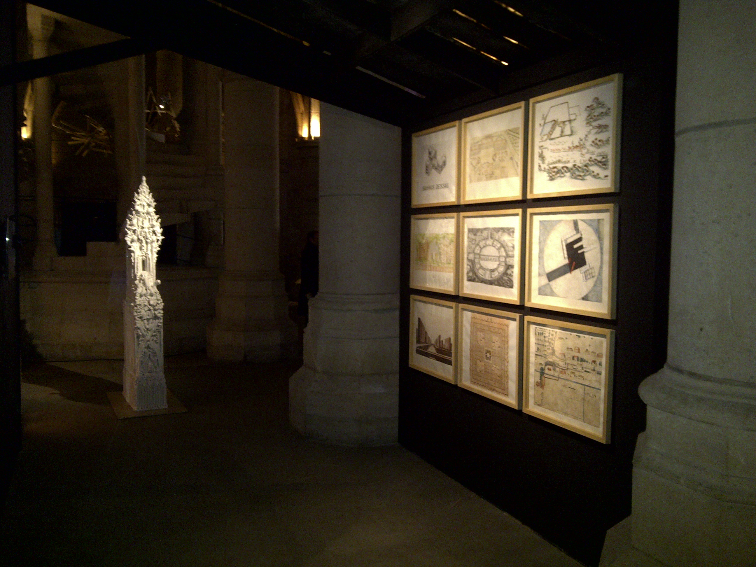 LaureTixier_Exposition Bêtes-Off, Conciergerie, Paris, 2011, commissariat Claude d'Antenaise.