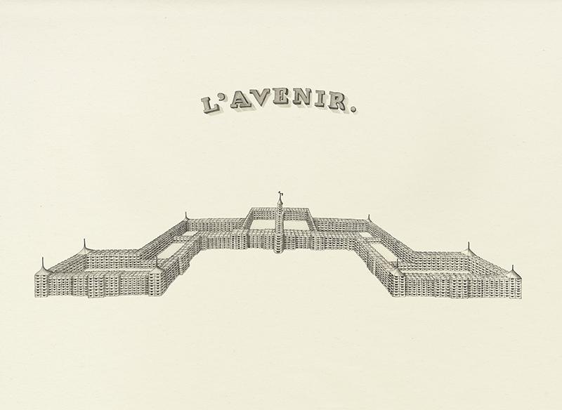 LaureTixier_L'Avenir, perspective d'un canilistère, 2016