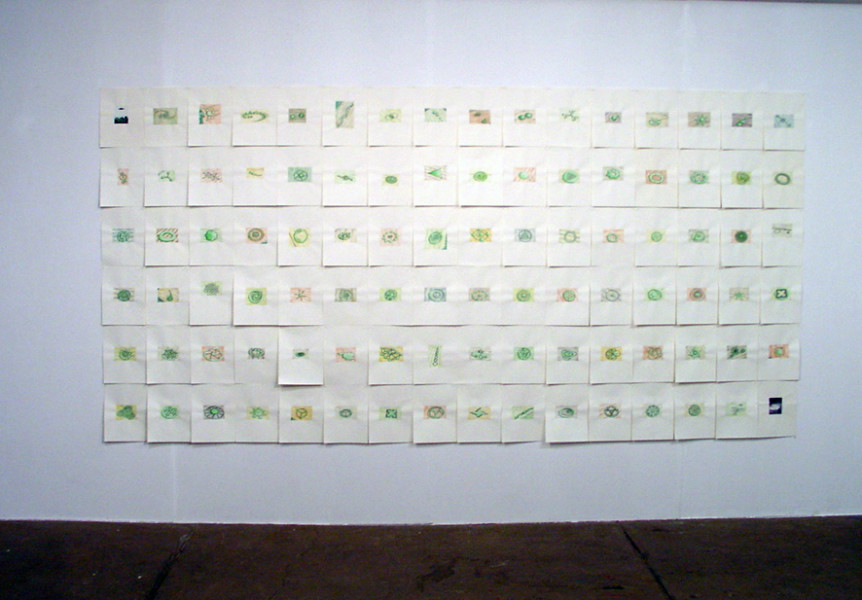 LaureTixier_I want to believe, exposition Territoires inoccupés, FRAC Auvergne, 2002